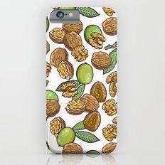 cheeky walnuts pattern Slim Case iPhone 6s
