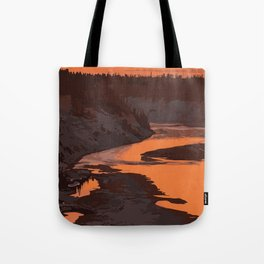 Twin Falls Gorge Territorial Park Tote Bag