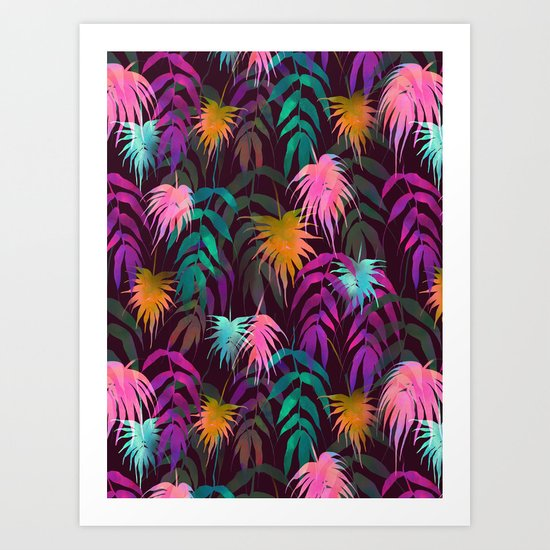 New Palm Beach - Fall Art Print