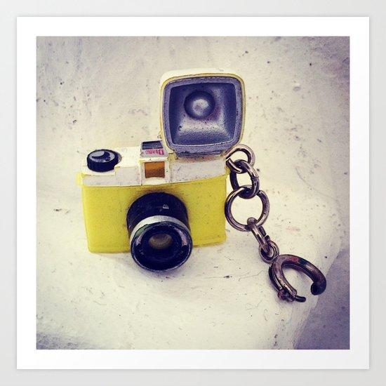 Mini Camera Art Print
