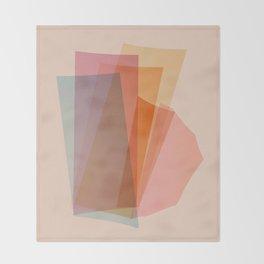 Abstraction_Spectrum Throw Blanket