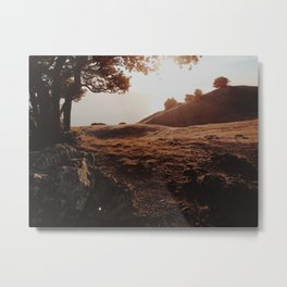 Sunset at Tamalpais Metal Print