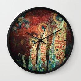 Three Sisters Wall Clock