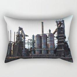 Bethlehem Steel Blast Furnaces 2 Rectangular Pillow
