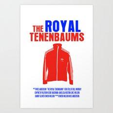 The Royal Tenenbaums Movie Poster Art Print