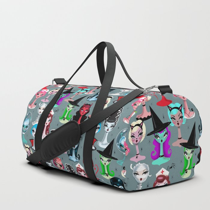 Spooky Dolls Duffle Bag