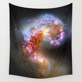 Antennae Galaxies Wall Tapestry