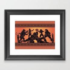 The One Framed Art Print