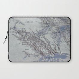 Winter grass Laptop Sleeve