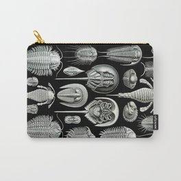Trilobites and Fossils by Ernst Haeckel Carry-All Pouch