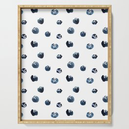 Blueberries Serving Tray