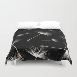 Celestial Dandelions Duvet Cover