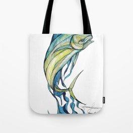 The Glass Mahi Mahi  Tote Bag