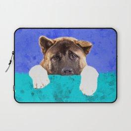 American Akita Puppy Laptop Sleeve