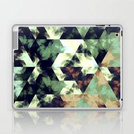 Green Hex Laptop & iPad Skin