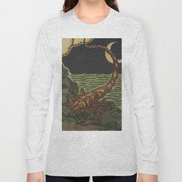 French Tarot Scorpion Long Sleeve T-shirt