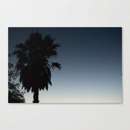 cali palmtree Canvas Print