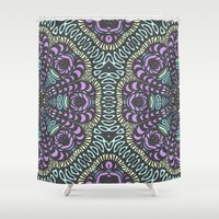gypsy Shower Curtains featuring Gypsy Dream by ArtLovePassion