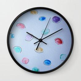 thumbprints. Wall Clock