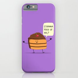Trouble Caker! iPhone Case