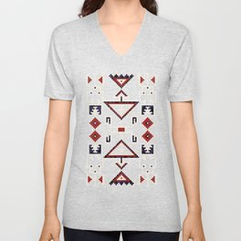Native American Navajo pattern Unisex V-Neck