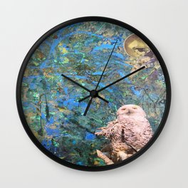 Once Upon a Night Wall Clock