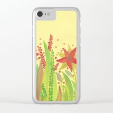 Botanical vibes 11 Clear iPhone Case