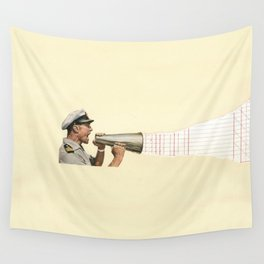 Torn Around - Sailor Wall Tapestry