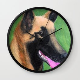 Florida Gal Wall Clock