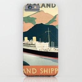 Nautical Art 24 iPhone Case
