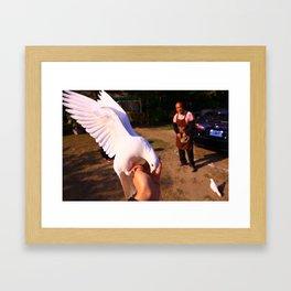 "gau peng jan chr ""高鵬展翅"" Framed Art Print"