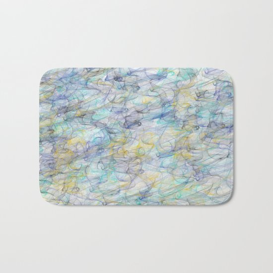 Smoke pattern Bath Mat