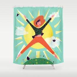 Exuberant! Shower Curtain