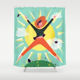 Exuberant! Shower Curtain