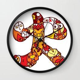 火  - FIRE Wall Clock