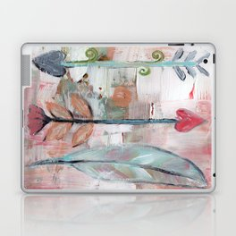 Heart Arrows Laptop & iPad Skin