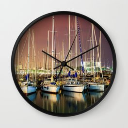 Barcelona Yacht Club Wall Clock