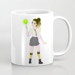 Schoolgirl witch (yellow) Coffee Mug