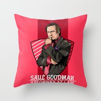 lawyer Throw Pillows featuring You need a lawyer? by Akyanyme