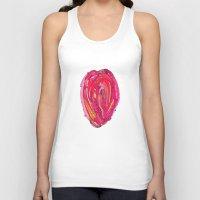 artsy Tank Tops featuring Artsy Heart by Ingrid Padilla