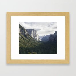 El Capitan Dreams Framed Art Print