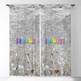 Humanity Paint Blackout Curtain