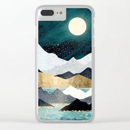 Ocean Stars Clear iPhone Case