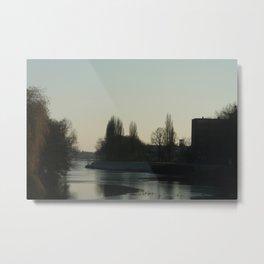 Weser Metal Print