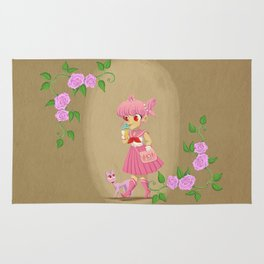 Retro Sailor Chibi Moon Rug