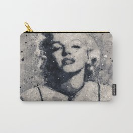 Marilyn M. Geometric Art Carry-All Pouch