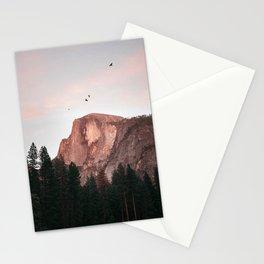 Yosemite Mountain Birds Half Dome Stationery Cards