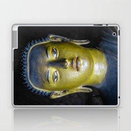 Buddha statue inside Maha Raja Viharaya or the Temple of the Great King (Cave No.2) Laptop & iPad Skin