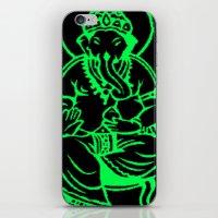 hindu iPhone & iPod Skins featuring Hindu god by Littlefox