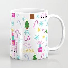 Fa la la llama Coffee Mug